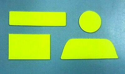ROTAX MAX YELLOW ENGINE SERIAL NUMBER COVER STICKER SET - KARTING - JakeDesigns