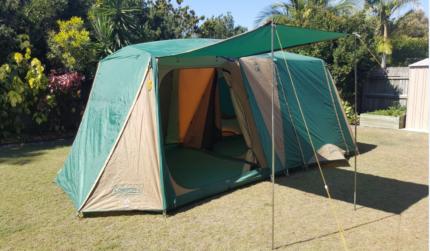 Coleman Northstar 8 CV tent & coleman northstar tent | Sport u0026 Fitness | Gumtree Australia Free ...