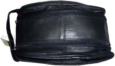 Men's Bag, Genuine leather Grooming Bag, Cosmetic bag, toiletry case. men's bag