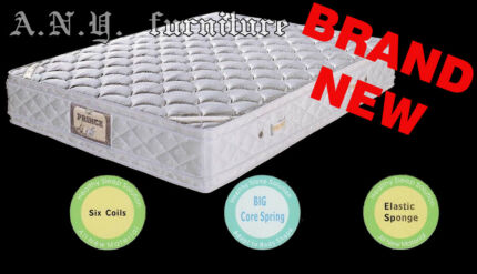 Prince SH1680 Soft Mattress with double side pillow top