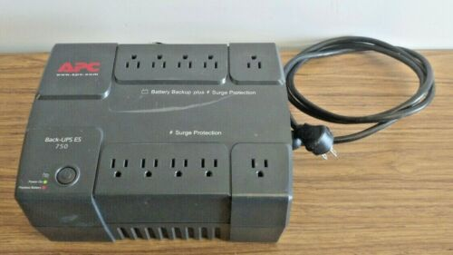 APC Back UPS 750 BE750BB 10 Outlet Uninterruptible Power Supply (No Battery)