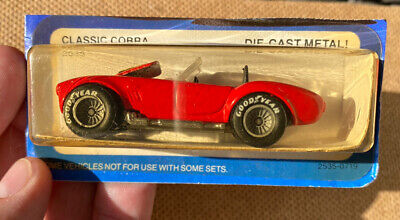 Vintage 1982 HOT WHEELS REAL RIDERS RED CLASSIC COBRA TOY CAR MOCC