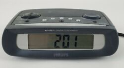 Philips AJ3430 PLL Digital Alarm Clock Radio Tested