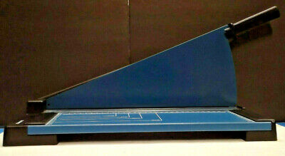 Dahle 502 - Personal Guillotine - Paper Cutter - West Germany - Blade Lever - A4