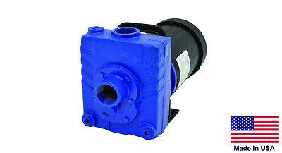 Centrifugal Pump Stainless Steel - 4800 Gph - 1 Hp - 230460v 3 Ph 1.5 Ports