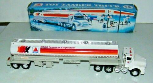 """1996 Citgo Oil Co. 1st In Series Lights & Sound 14"""" Tanker Truck HGK Enterprises"""