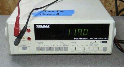 Tenma 72-410a Digital Multimeter - Working