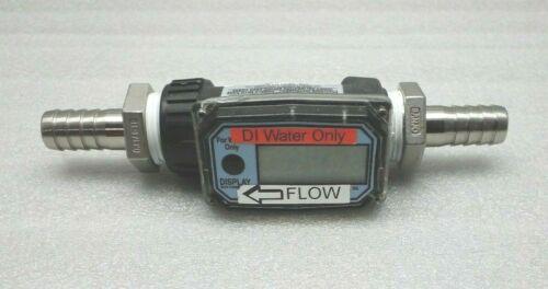 GPI 01N31GM ELECTRONIC WATER METER GREAT PLAINS NYLON FLOWMETER