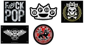 Five-Finger-Death-Punch-Sew-On-Patch-Patches-NEW-OFFICIAL-Choice-of-5-designs