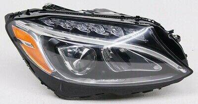OEM Mercedes-Benz C-Class Right Passenger Side LED Headlamp Mount Missing