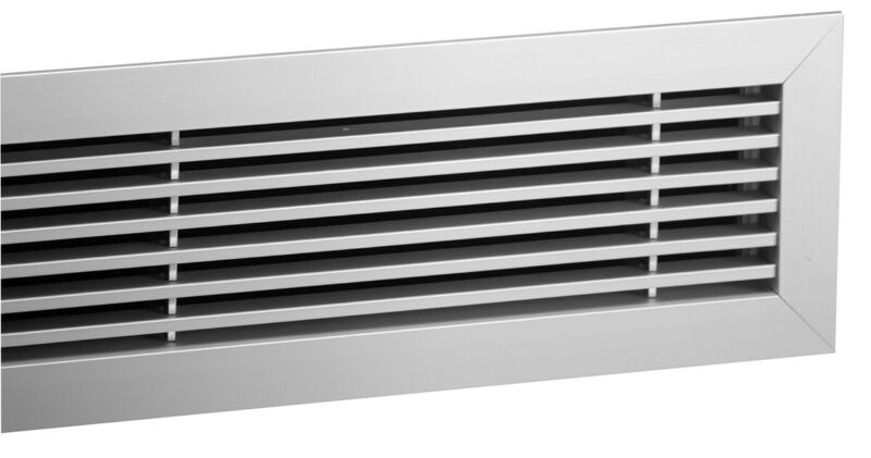 Hart & Cooley - LF1000 10 04 SA -  Light Commercial Linear Series Floor Diffuser