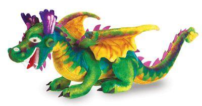 Melissa & Doug Dragon Giant Stuffed Animal
