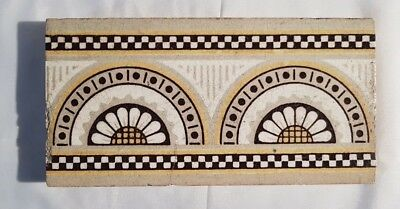 STUNNING VICTORIAN BORDER TILE 8 AVAILABLE 6 X 4 INCHES