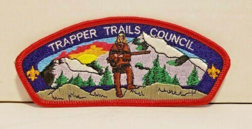 OA TRAPPER TRAILS COUNCIL SHOULDER PATCH CSP MOUNTAIN MAN