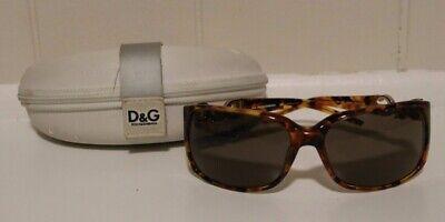 Dolce & Gabbana DG 3006 502/73 Brown Tort & Gold Women's Sunglasses