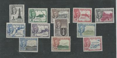 Virgin Islands, Postage Stamp, #102-113 Mint NH, 1952 (p)