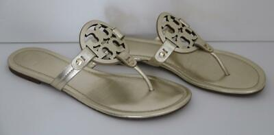 Tory Burch Women's Shoes Miller Sandal Spark Gold Size 8 FREE SHIPPING!