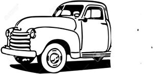 1950-51 Chevy 5 window truck sell or trade for 70's dodge tuck
