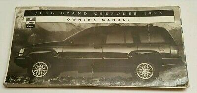 1995 JEEP GRAND CHEROKEE OWNERS MANUAL LAREDO SE ORVIS LIMITED SPORT V8 I6