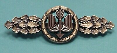 LUFTWAFFE FLYING CLASP – DAY FIGHTER – LONG RANGE -BRONZE- FED. REPUBLIC PATTERN