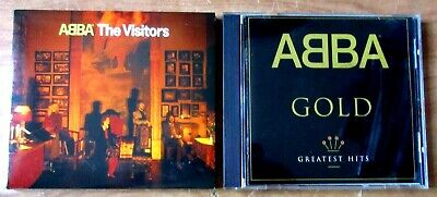 Lot of 2 ABBA The Visitors and ABBA Gold Greatest Hits