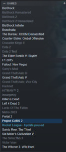 Steam account / Compte steam - 30 games NEGOTIABLE