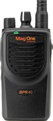 Motorola BPR40 MAG ONE VHF 150-174MHz 16 CHANNEL 5 WATT Two Way Radio LI-ION (Motorola Mag One Radio)