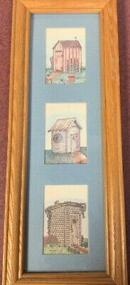 OUTHOUSE PICTURE - Bathroom decore accents Outhouse Bathroom Decor
