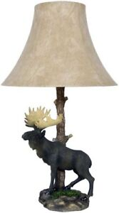 Table Lamp Moose