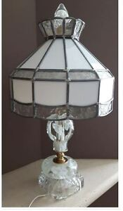 Paperweight handblown table lamps