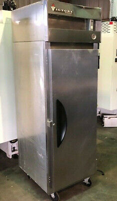 Victory Vf1 Single Door Stainless Freezer Reach In Used Nsf Certification