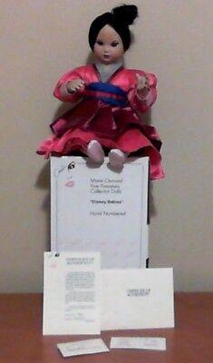 DISNEY BABY MULAN by MARIE OSMOND TODDLER SERIES - W/BOX, COA, HANG TAG,BRACELET