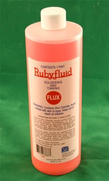 Rubyfluid Liquid Flux for Stained Glass - 16 oz. Ruby Fluid