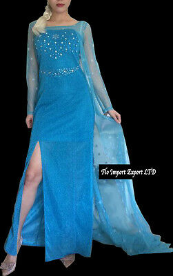 frozen - Karnevalkleid Frau elsa Dress Up Frau elsa Kostüme 8899002D