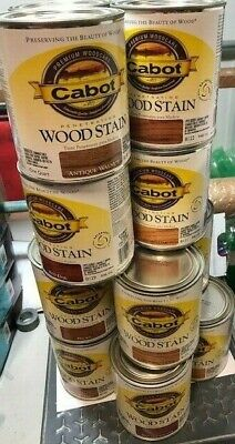 CHOICE CABOT PENETRATING INTERIOR OIL WOOD STAIN 1 QUART CAN 1 Penetrating Oil