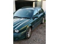 Jaguar x type estate 2.0d