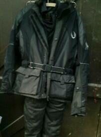 Belstaff motor cycle jacket and trousers