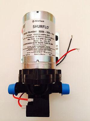 Shurflo RV Fresh Water Pump 12 volt, 3.5 gpm 45 psi Motorhome Caravan BRAND NEW