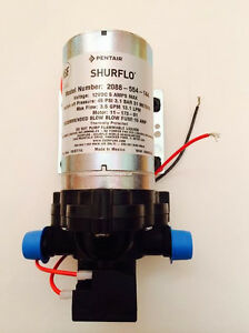 Shurflo-RV-Fresh-Water-Pump-New-12-volt-3-5-gpm-45-psi-Motorhome-Caravan-NEW