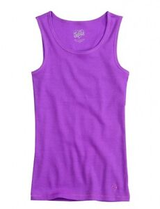 JUSTICE Girls Ribbed Tank Tops, NEW, Sizes 6 7 8 10 12 14 16
