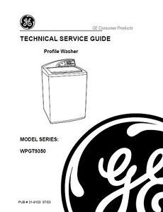 Washing Machine Repair: Ge Profile Washing Machine Repair