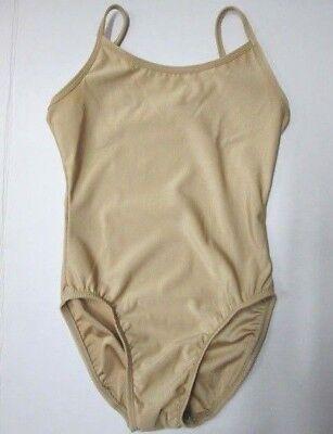 NEW Nude Camisole Leotard Child TC SC IC MC LC Dance Costume Beige Tan Cami