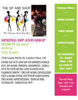 Spring Sip & Shop   Ladies  Day  Out