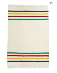 Hudson Bay Caribou Multi Stripe Throw