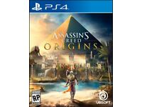 Assassins creed origins PS4 brand new (sealed)