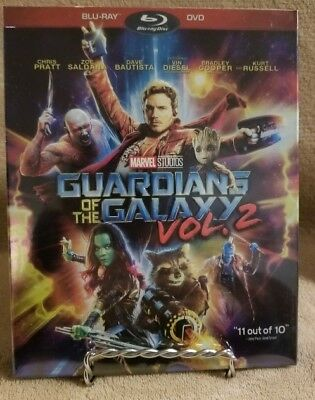 Guardians Of The Galaxy Vol  2  Blu Ray Dvd  2017  Brand New Free Shipping