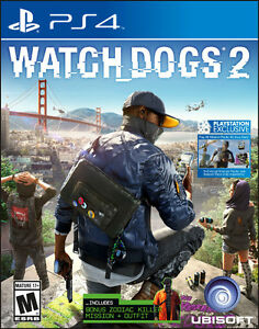 Dishonored 2 & Watch Dogs 2 PS4