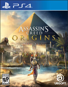 Assassins Creed Origins for PS4 new