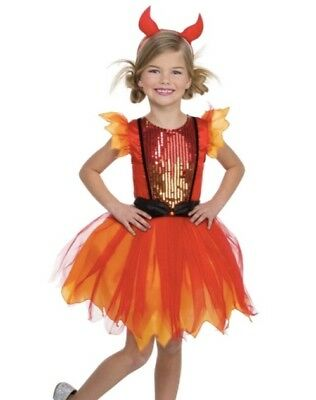 Girl Devil Darling Halloween Dress Up / Role Play Costume Size Small (4-6) - Girl Devil Costumes Halloween