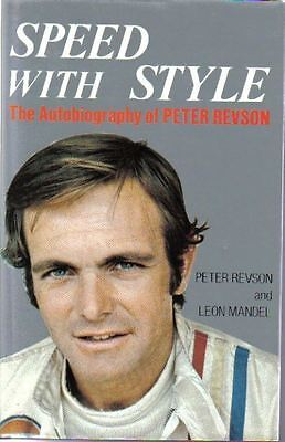 Speed with Style Autobiography of Peter Revson GP Racing 1972 - 1974 Kyalami +